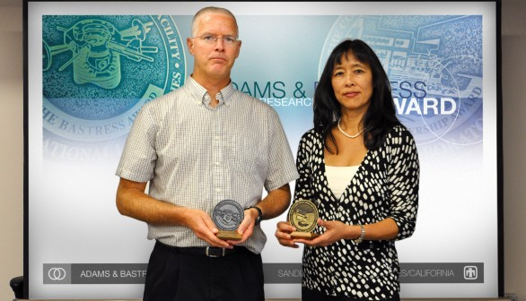Adams and Bastress Awards Given to CRF Staff Members