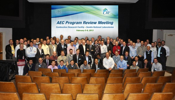 Dennis Siebers hosts Advanced Engine Combustion program review