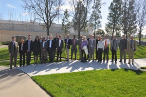 DOE Office of Basic Energy Science program managers and reviewers visit the CRF