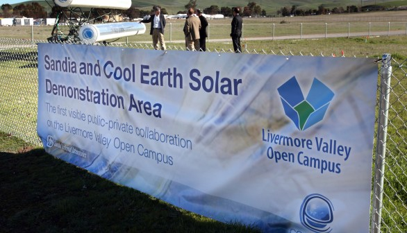 Sandia and Cool Earth Solar Announce Partnership