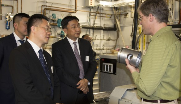 Sandia hosts Chinese delegation