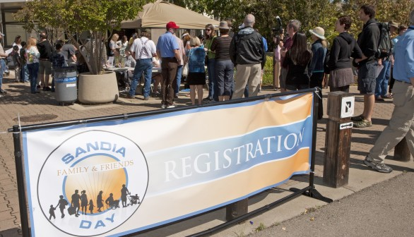 Sandia Hosts Friends and Family Day