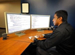 Over the summer, Raj Kumar worked on uncertainty in large-eddy simulations with mentor Jeremy Templeton.