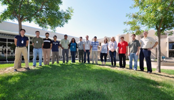 Faculty and Students Pursue CRF Research under DOE Programs