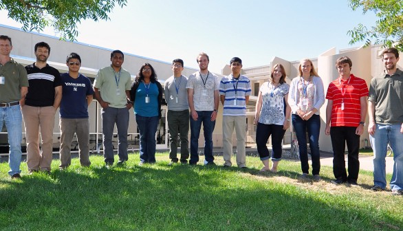 Students and Professors Spend the Summer at Sandia under DOE's WDTS Program