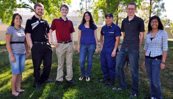 Student Interns Return to the CRF