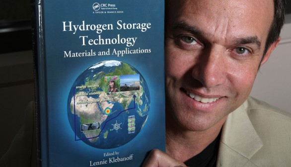 New hydrogen book illustrates Sandia expertise in H2 storage