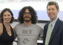 First Kevin E. Strecker Award Presented at Rice University