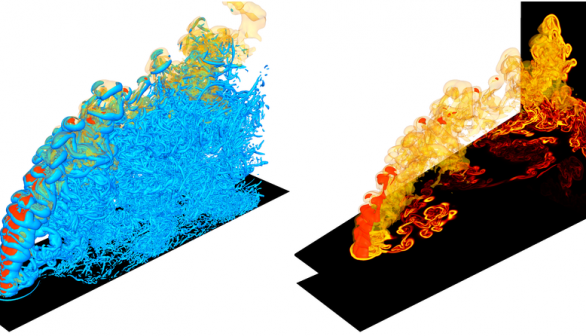RAPTOR Turbulent Combustion Code Selected for Next-gen Supercomputer Readiness Project