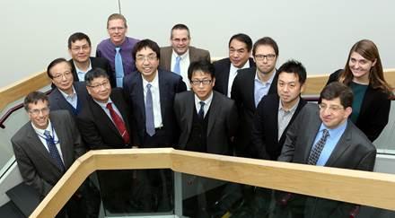 Toyota officials visit Sandia